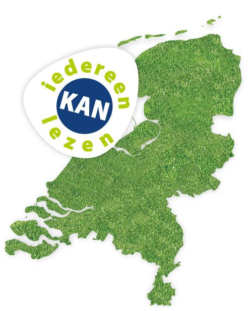 Kaart van Nederland met locaties